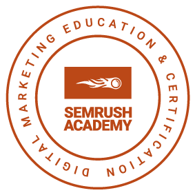 SEM Rush SEO Certification Image