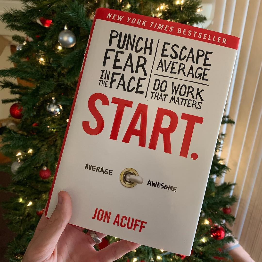 Start, by Jon Acuff Book Image