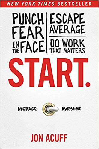 Start by Jon Acuff Book Image
