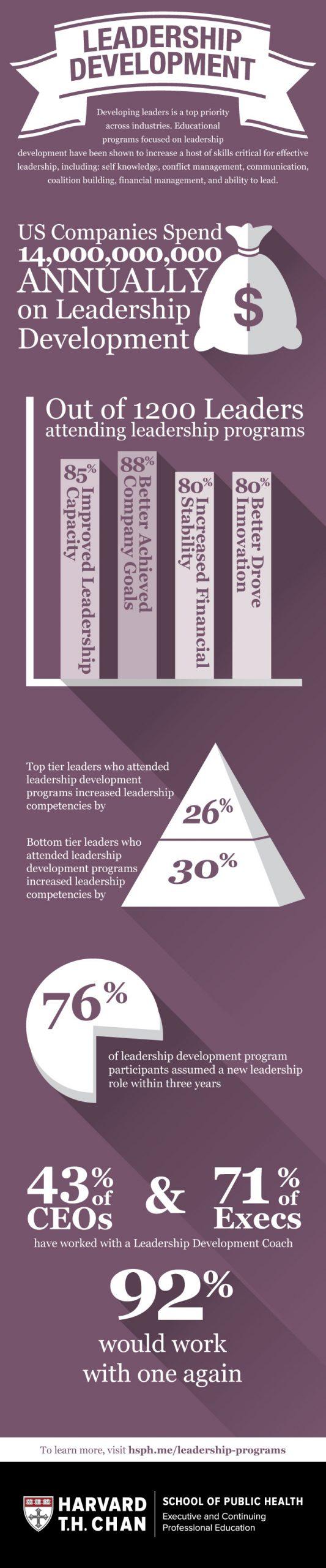 Leadership Development Infographic Image