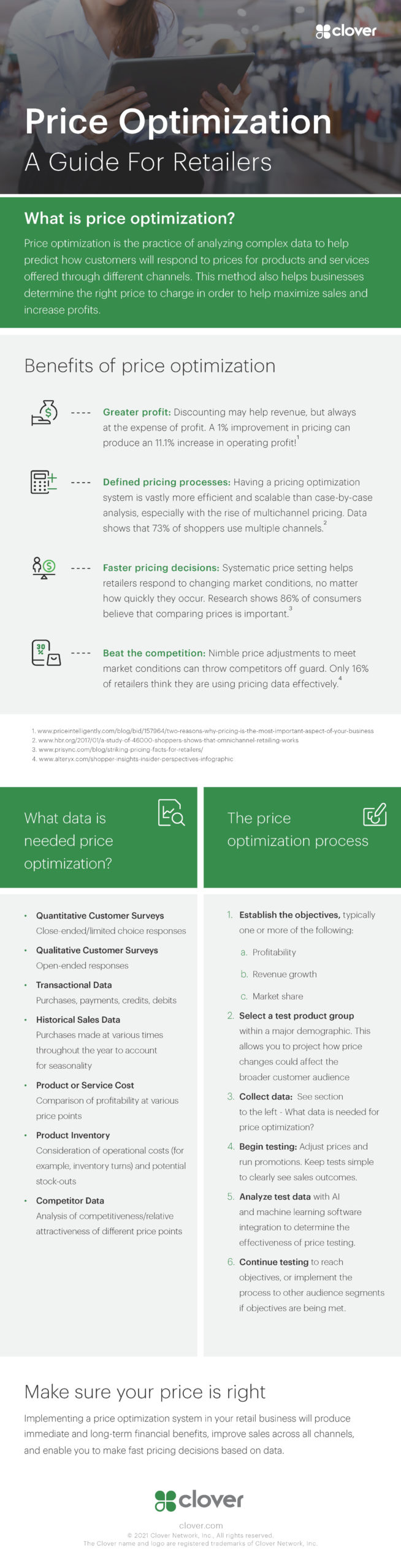 Price Optimization: A Guide For Retailers Infographic